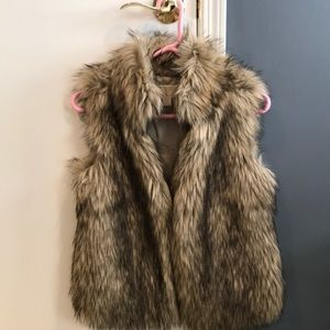 Michael Kids Faux Fur Vest